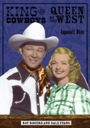 cover of White is a colorized photo of young Roy Rogers and Dale Evans