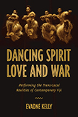 Book cover showing four dancers