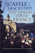 cover of the Draine and Hinden book is a photo illustration of a castle town in France.