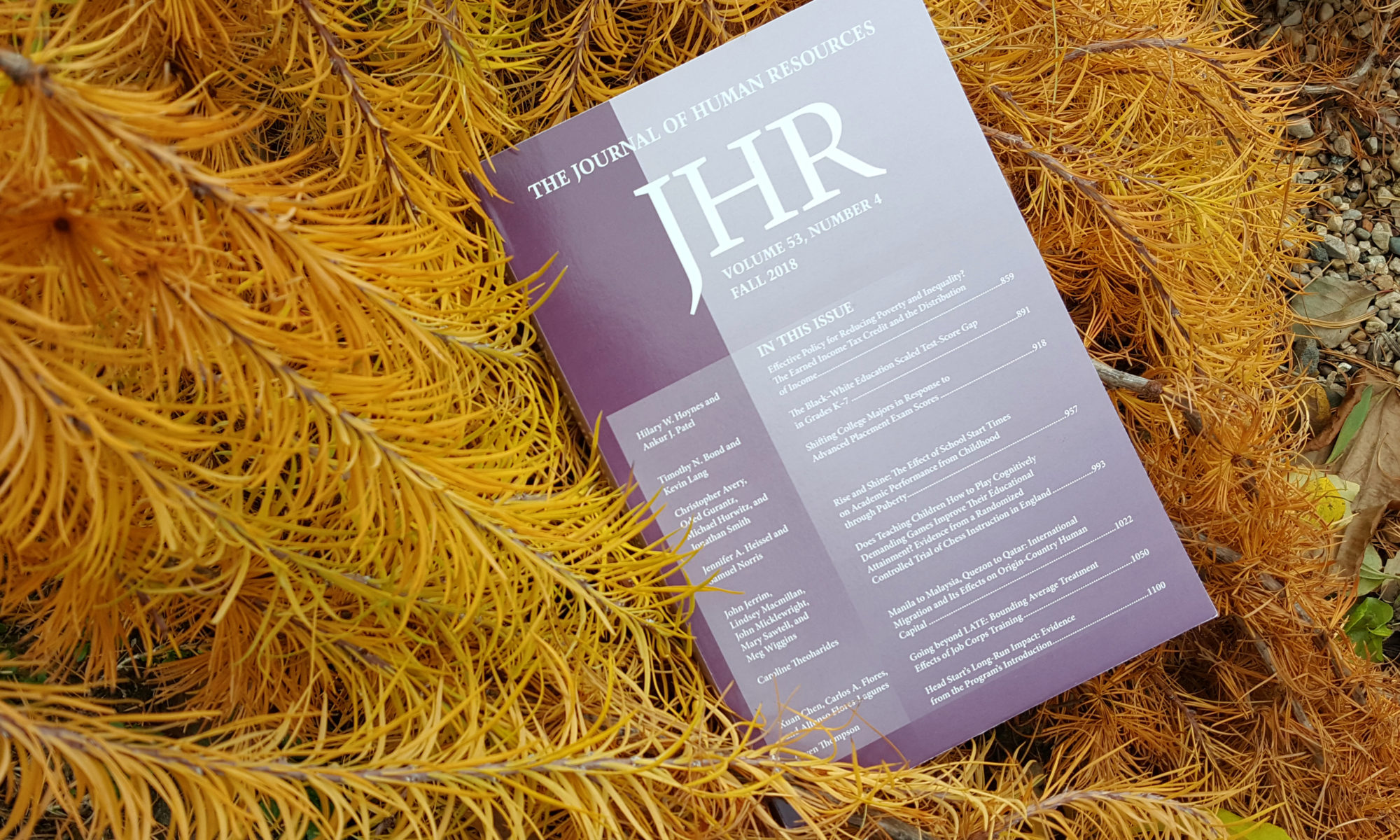 JHR News & Research Highlights