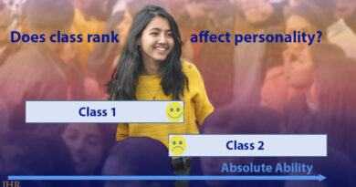 Similar students who rank differently show that rank increases conscientiousness